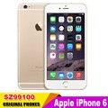 Desbloqueado apple iphone6 iphone 6 dual core 4.7 de polegada 1.4 ghz câmera 8.0mp 3g wcdma 4g lte telefone usado