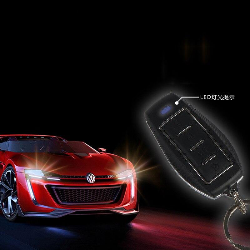 Alarme de voiture universelle télécommande contrôle central serrure télécommande boîte ouverte système d'alarme de vibration verrouillage central alarme de voiture