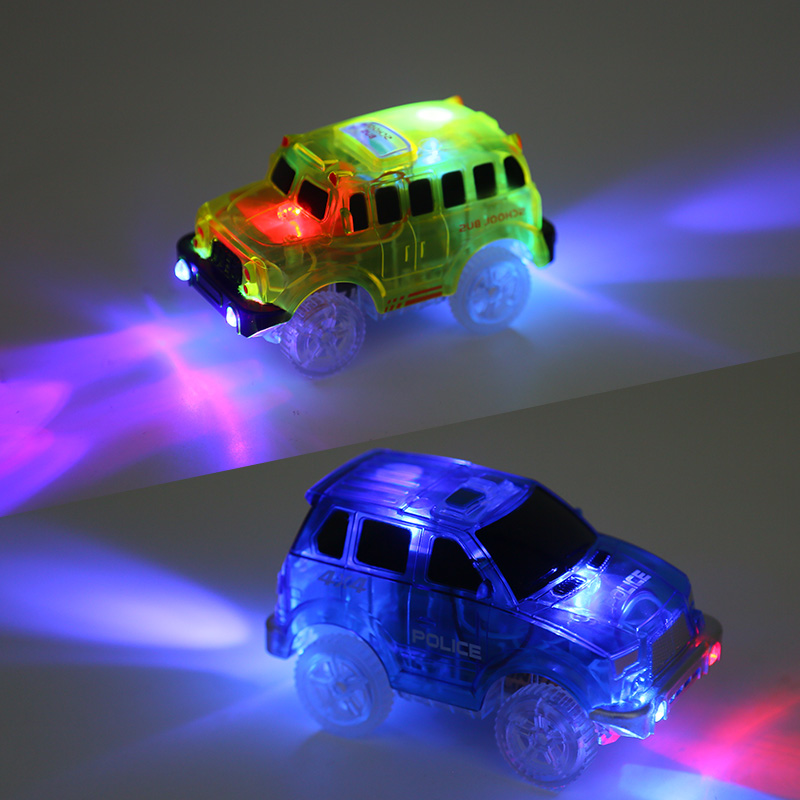 5 led light track car miraculous glowing race magic bend flex tracks 5 led light track car miraculous glowing race magic bend flex tracks flash in the dark assembly cars toy mini rail car kids gift in diecasts toy vehicles mozeypictures Image collections