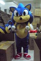 New Sonic the Hedgehog Mascot costume Sonic Mascot costume Cosplay costume Free shipping