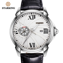 STARKING Watches Men Luxury Brand Quartz Watch Fashion Stainless Steel Sport Reloj Hombre Clock Male Hour Relogio Masculino