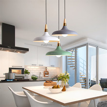 Nordic Macaron Pendant Lamp Restaurant Simple Decor Pendant Loft Hanglamp LightsLiving Room Bedroom Home Lighting Light Fixture