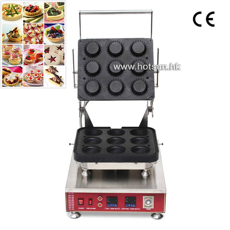 #304 Stainless Steel Professional 110V 220V Electric Egg Tart Shell Maker Machine With Removable Plate delicious snacks equipment automatic egg tart skin forming machine egg tart skin machine