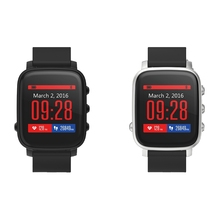 SMA-TIME Bluetooth 4.0 Sports Smartwatch Heart Rate Monitor Waterproof Smart Watch 40 Days Long Standby Watch For Andoird IOS