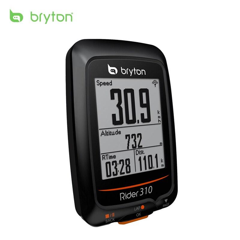 2018 Новый велокомпьютер bryton Rider 310 с поддержкой водостойкие gps велосипед велосипедные компьютеры Спидометр край 200 500 510 810 800 крепление