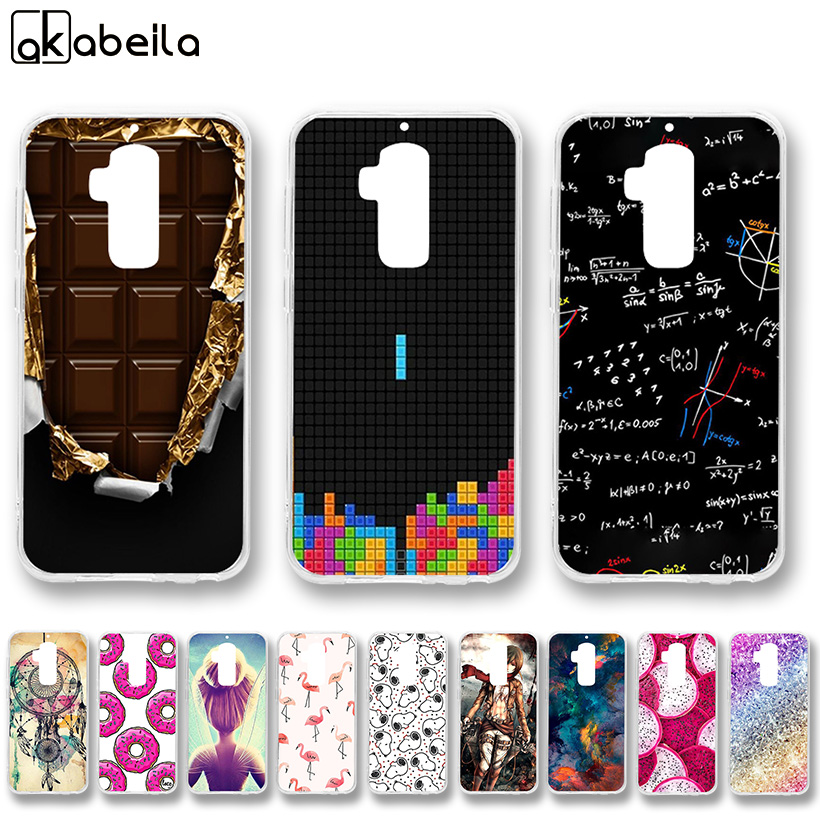 AKABEILA Cases Soft TPU For Homtom S8 Case Silicone For Homtom S8 Covers For Homtom S8 5.7 inch Silicone Case