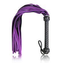 Genuine Leather Queen Whip Flogger Ass Spanking Bondage Slave Fetish Sex Products Adult Games Fun Couples Toys For Women Men Gay