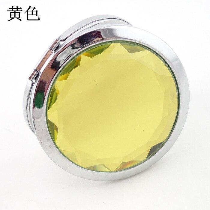 compacto cristal metal bolso espelho presente do