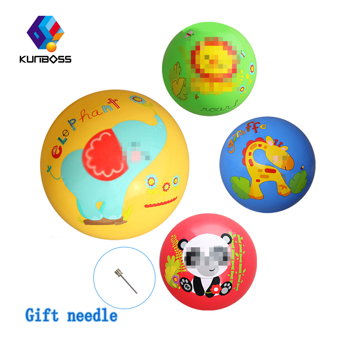 Cute Children Toy Hand Ringing Bell Puzzle Ball Baby Beat Ball Thickening Kids Toys Kind ...