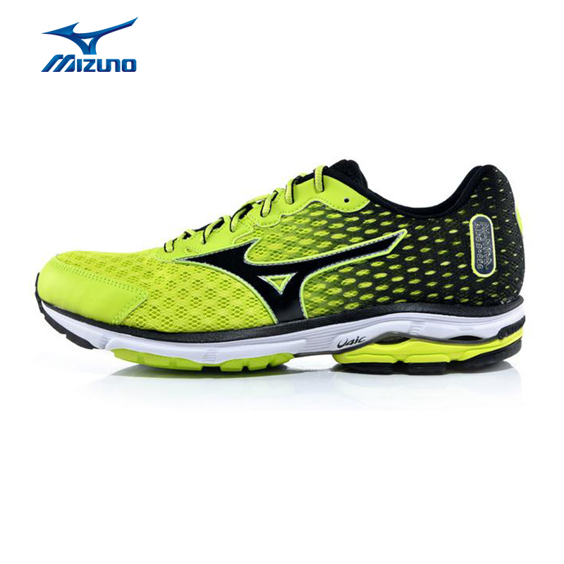 MIZUNO Men WAVE RIDER 18 Mesh Breathable Cushioning Light ...