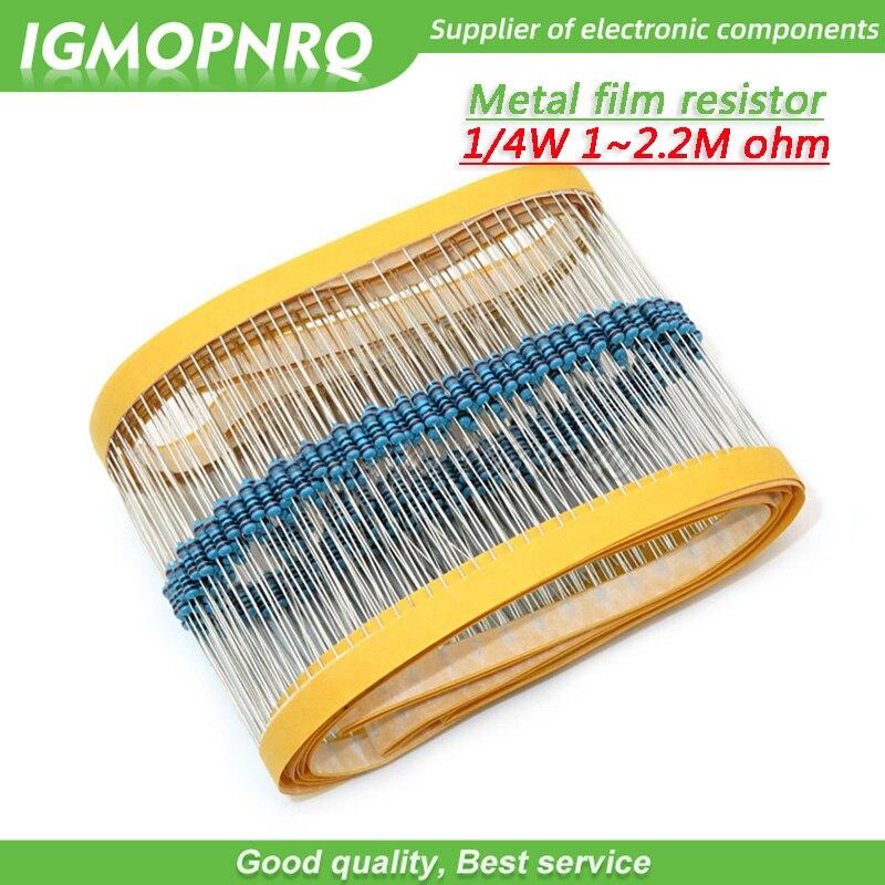 2M Ohm 0.5W 1//2 Watt Through-Hole Carbon Film Fixed Resistor ± 5/%