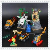 870 개 정글 탐사 해적 손실 방주 모델 빌딩 블록 장난감 LEPIN 02061 그림 선물 호환 Legoe