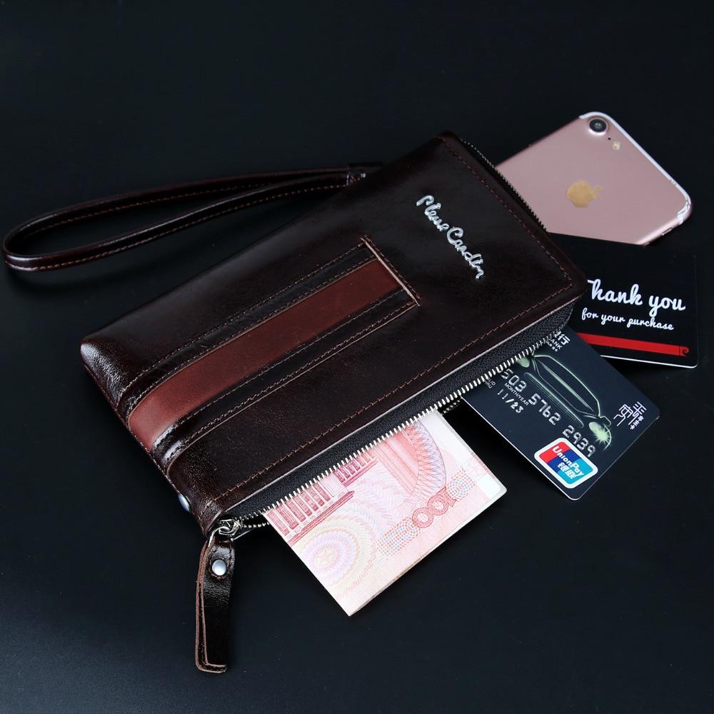 Пьер кардин для iphone X 8 7 6 6 S Plus, чехол, Повседневная сумка, мужская сумка, натуральная кожа, сумка на ремне, чехол для мобильного телефона