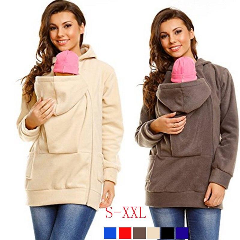 Baby Carrier Jacket Baby Hoodies Sweatshirts for Pregnant Women Pregnancy Baby Wearing Coat Pregnancy Cotheing Winter