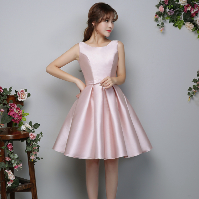 bridemaide dress vintage bridal nice gowns ladies formal short ...