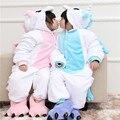 Unicorn Franela Pijamas Calientes de los niños Lindos de la Historieta Onesies Animales Ropa de Dormir de Los Niños Cosplay