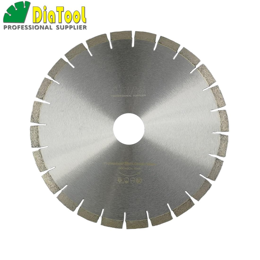DIATOOL 14 диаметр 60 мм Silent Diamond Blade сэндвич сталь Core резка диск гранит Алмазная Дисковая пила колеса режущие диски