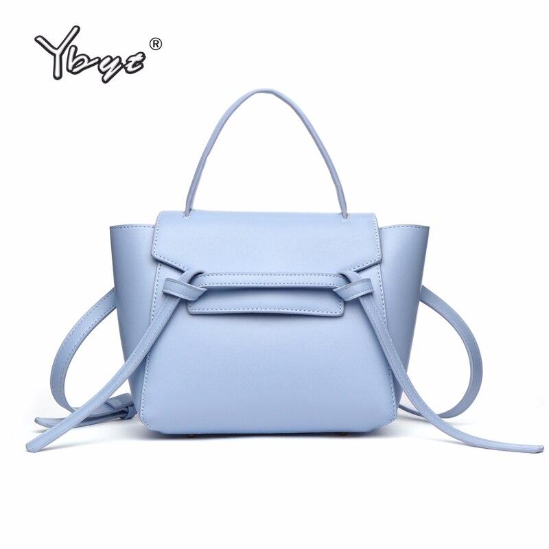 YBYT Brand 2018 New Shelves Women Trapeze Handbags Female Fashion Satchels Ladies High Quality Shoulder Messenger Crossbody Bags