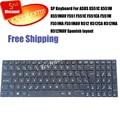100% новый Испанский Клавиатура для ASUS X551C X551M X551MAV F551 F551C F551CA F551M F551MA F551MAV R512 R512CA R512MA R512MAV