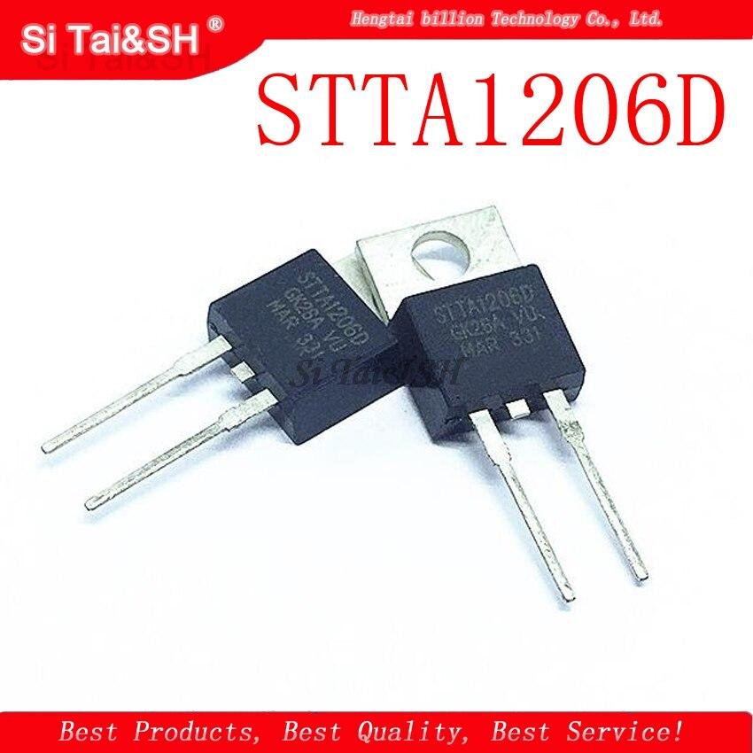 5pcs/lot STTA1206DI STTA1206D STTA-1206DI 1206DI TO-220AC