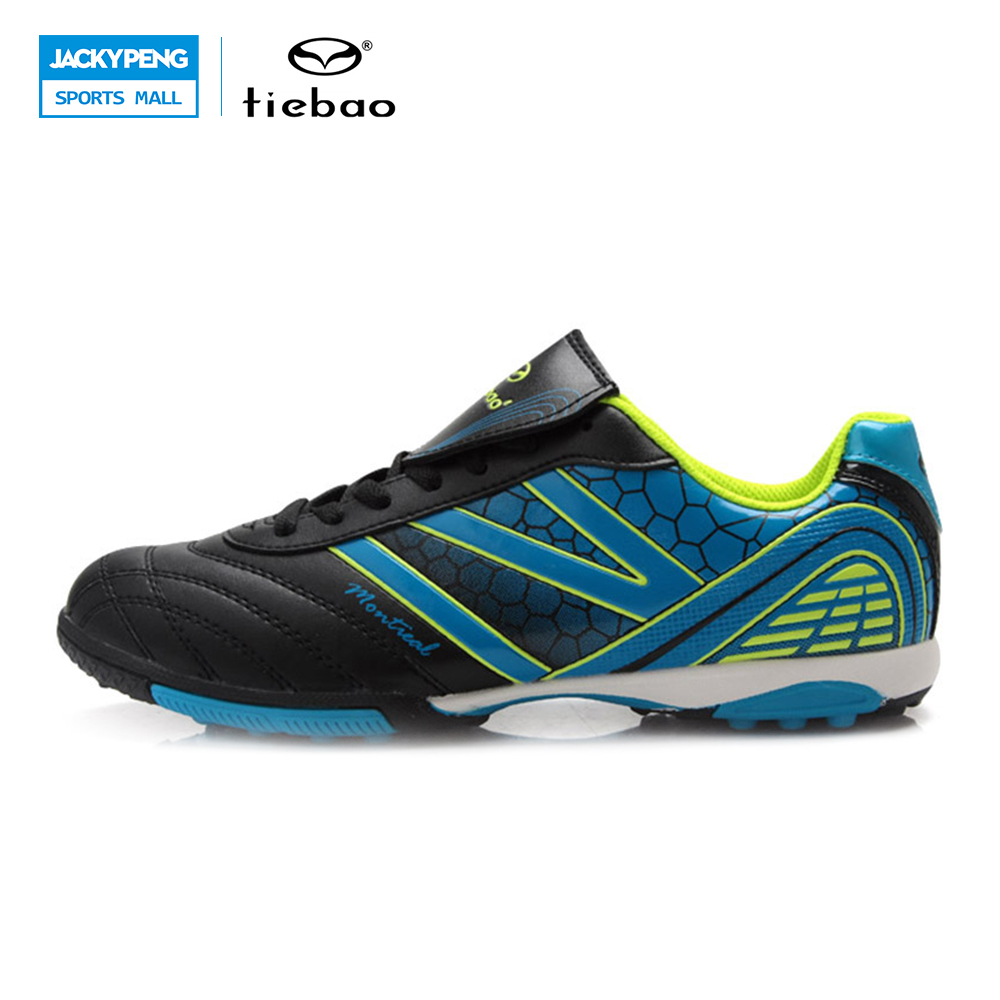 ФОТО TIEBAO Professional New Brand Sneakers Children Shoes Kids Sports Shoes Boys and Girls Breathable Football Shoes