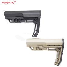 Entuzjastów wypoczynku na świeżym powietrzu gra snajper Jinming Lehui pod wodą kule dla M4 lekki ulepszona wersja L nylon MFT butt D78 tanie tanio Gimnastyka  8 lat Unisex Z tworzywa sztucznego Chwytając ruch zdolność rozwoju PB Playful bag toy gun
