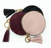 Emarald new fashion genuine leather coin KEY purse good quality with box free shipping