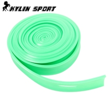 5m green resistance band  Tensile strength training exercise with elastic long bands