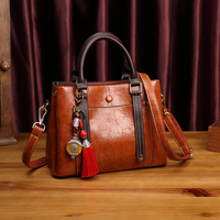 Genuine Leather handbag bags Women Crossbody Bags for Women 2018 Fashion Women Totes Bags Soft Tassel Women Shoulder Bag New T65