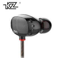 KZ N1 Earphones And Headphones Mini Dual Driver Extra Bass Turbo Wide Sound Headset Field In