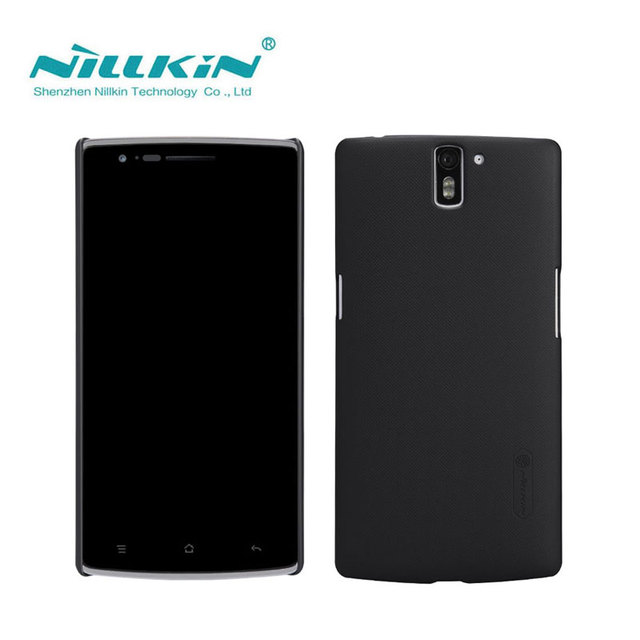 Oneplus One Case Nillkin Frosted Shield Hard Back Cover Case For Oneplus One A0001 Phone Case Gift Screen Protector