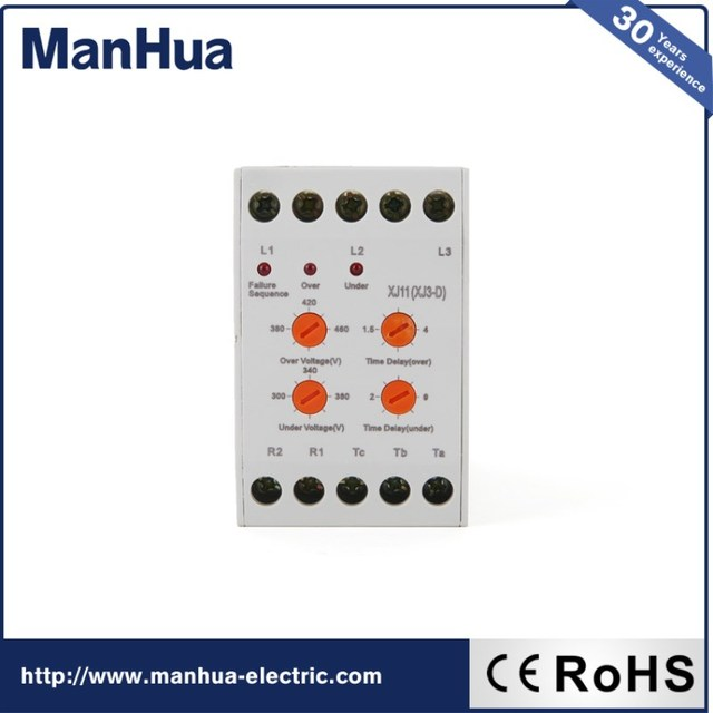 Manhua 2017 New Miniature Arrival Over Under Voltage Phase Failure Protection Relay XJ11 CCX1 3 Phase_640x640 aliexpress com buy manhua 2017 new miniature arrival over under phase failure relay wiring diagram at readyjetset.co