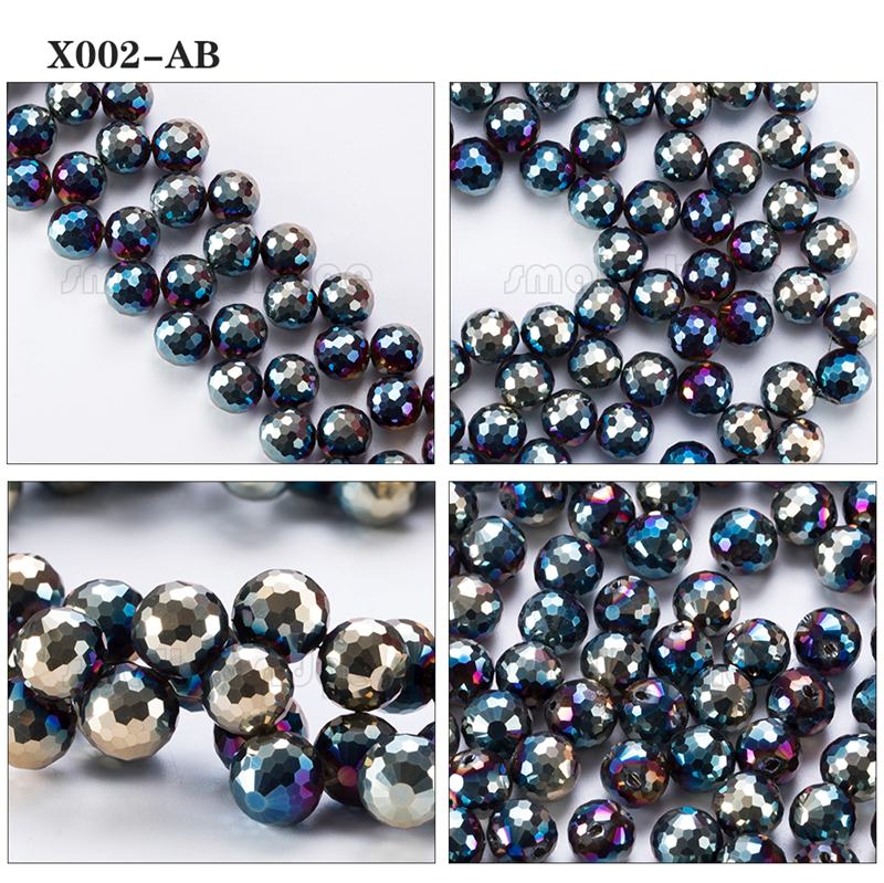 Large Crystal Beads (3)