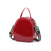 New Fashion 2019 New Small Bags Leisure Slant Jelly Crossbody Candy Colored Women Candy Handbag Women Shoulder Bag