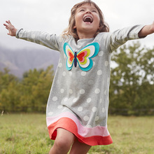 Baby Girls Tunic Jersey Long Sleeve Dresses​