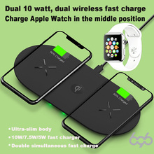 696 M7 3-in-1 Smart Wireless charger Smart identification For Most mobile phone Models For iWatch For AirPods