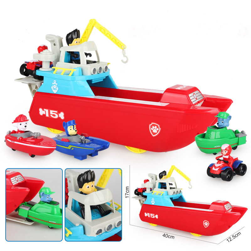 Marine-style-Paw-Patrol-Dog-Toys-Patrol-boat-Yacht-Ferry-Command-Center-Patrulla-Canina-Action-Figures (1)