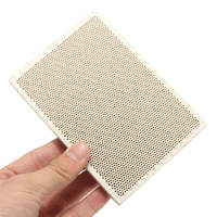 High Quality 1PC Ceramic Soldering Board Ceramic Honeycomb Solder Board Heating Paint Printing Drying 135mmX95mmX13mm EL