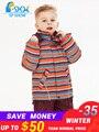 SP-SHOW Winter kinder Outwear Rollkragen striped und gedruckt jacken Kinder kleidung jungen und mädchen ski jacke anzug 009/011