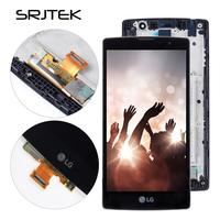 Srjtek For LG Magna H502F LCD Touch Screen Digitizer Assembly With Frame H500 H502 H525 H502F