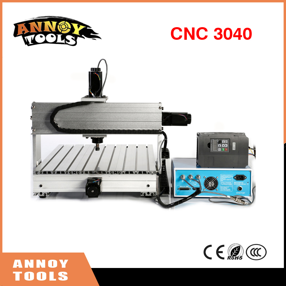 CNC 3040 800W 1500W 3 Axis CNC Engraving Machine Engraving PVC Three-axis Plane Engraving Machine Wood Carving Machine metal engraving machine 3040 engraver 800w cnc machine to eu country free tax