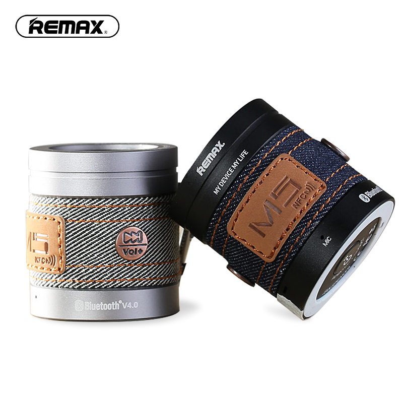 REMAX M5 Cycling Sports Portable Mini Bluetooth Speaker Wireless subwoofer NFC speakers for MP3 Player outdoor HIFI Bass