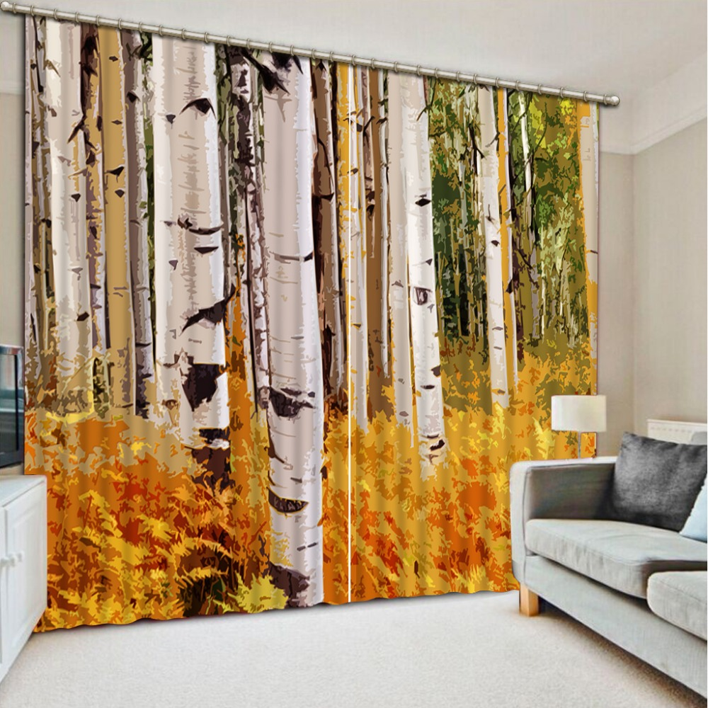 Pictures 3D Blackout Curtains For Living room 3D Window Curtains For Bedding room forest Curtains for living roomPictures 3D Blackout Curtains For Living room 3D Window Curtains For Bedding room forest Curtains for living room