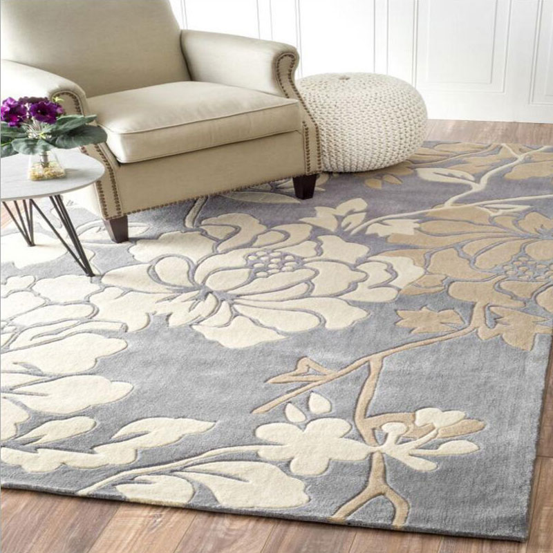140x200cm Acrylic Carpet Rugs Square Floor Soft Living Room Anese Style Modern Luxury Large Mat Home Bedroom In From