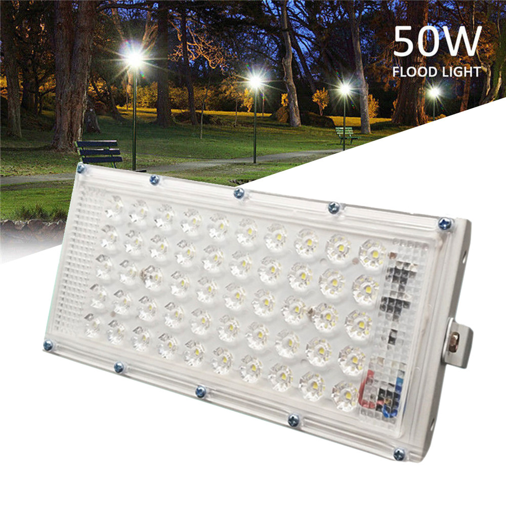 Hot Sale Aluminum 50 LED Flood Light Waterproof Outdoor