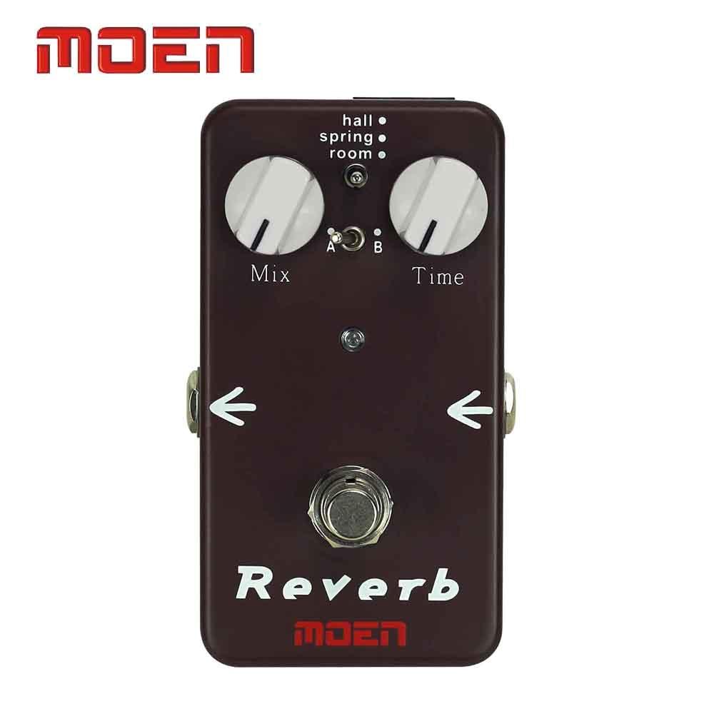 Moen AM-RB Pedal True Bypass design Reverb Box Speaker Electric Guitar Effect Pedal moen reverb electric guitar effects effect pedal ac rv true bypass