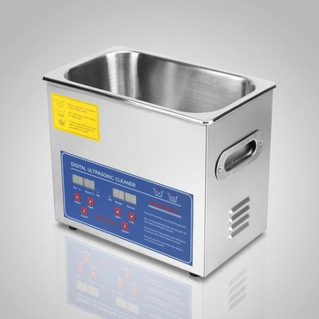 3L Digital Cleaning Machine for Jewelry and Glass Advanced Brushed Stainless Steel Cleaning Tank