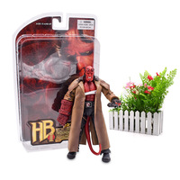 18 cm HB 2# Series 2 Wounded Hellboy PVC Action Figure Collection Model Doll Hot Toy Christmas Gift For Children