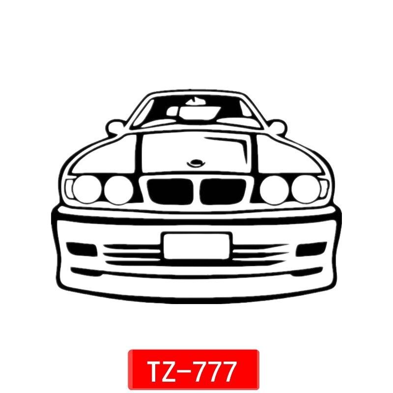 Three Ratels TZ-777 12*16.2cm 1-5 pieces car sticker for bmw e34 auto sticker car stickers removable three ratels tz 786 12 16 2cm pieces car sticker gokturk flag turkey auto sticker car stickers removable