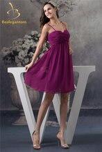 Женское шифоновое платье трапеция bealegantom для выпускного